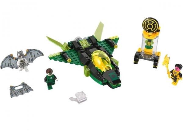 Конструктор Lego Super Heroes Лего Супер Герои Зеленый Фонарь против Синестро