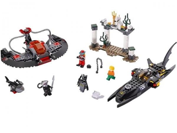 Купить Конструктор Lego Super Heroes Лего Супер Герои Глубоководная атака Черного Манта в интернет магазине игрушек и детских товаров