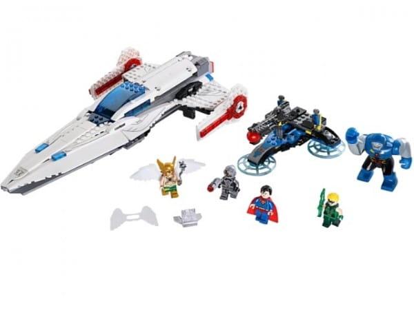 Конструктор Lego Super Heroes Лего Супер Герои Вторжение Дарксайда