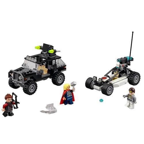 Купить Конструктор Lego Super Heroes Лего Супер Герои Гидра против Мстителей в интернет магазине игрушек и детских товаров