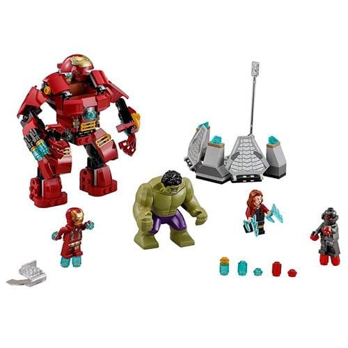 Конструктор Lego Super Heroes Лего Супер Герои Разгром Халкбастера