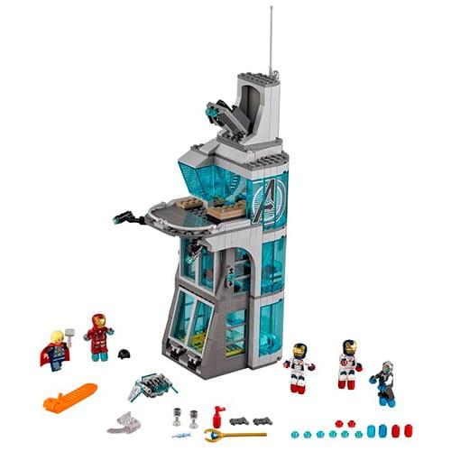 Конструктор Lego Super Heroes Лего Супер Герои Нападение на башню Мстителей