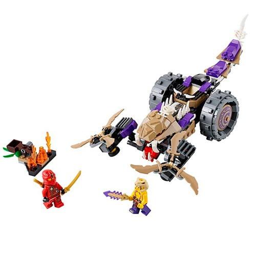 Купить Конструктор Lego Ninjago Лего Ниндзяго Разрушитель Клана Анакондрай в интернет магазине игрушек и детских товаров