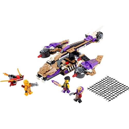 Купить Конструктор Lego Ninjago Лего Ниндзяго Вертолетная атака Анакондраев в интернет магазине игрушек и детских товаров