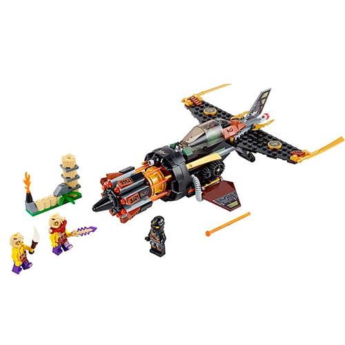 Купить Конструктор Lego Ninjago Лего Ниндзяго Скорострельный истребитель Коула в интернет магазине игрушек и детских товаров