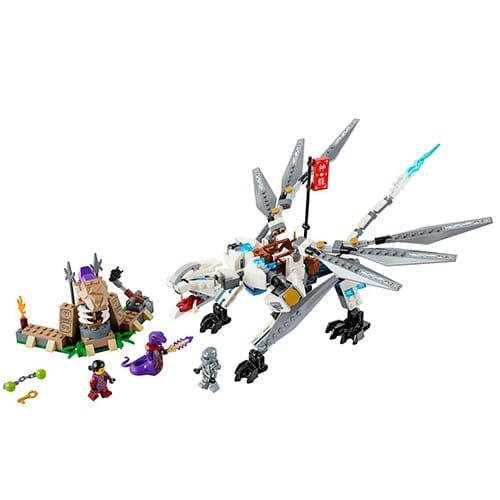 Купить Конструктор Lego Ninjago Лего Ниндзяго Титановый дракон в интернет магазине игрушек и детских товаров