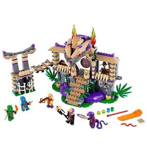 Купить Конструктор Lego Ninjago Лего Ниндзяго Храм Клана Анакондрай в интернет магазине игрушек и детских товаров