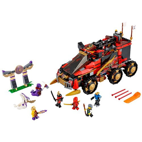 Купить Конструктор Lego Ninjago Лего Ниндзяго Мобильная база Ниндзя в интернет магазине игрушек и детских товаров