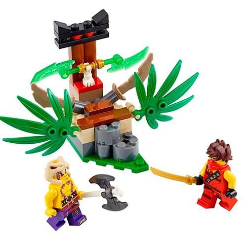 Купить Конструктор Lego Ninjago Лего Ниндзяго Ловушка в джунглях в интернет магазине игрушек и детских товаров
