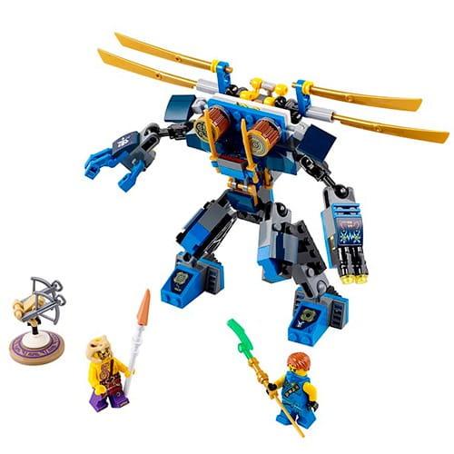 Купить Конструктор Lego Ninjago Лего Ниндзяго Летающий робот Джея в интернет магазине игрушек и детских товаров