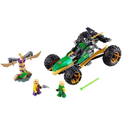 Купить Конструктор Lego Ninjago Лего Ниндзяго Тропический багги Зеленого ниндзя в интернет магазине игрушек и детских товаров