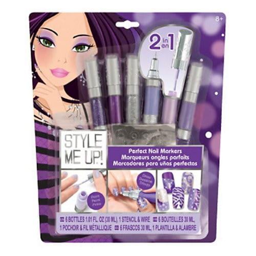 Купить Набор для творчества Style Me Up Идеальный маникюр - фиолетовый в интернет магазине игрушек и детских товаров