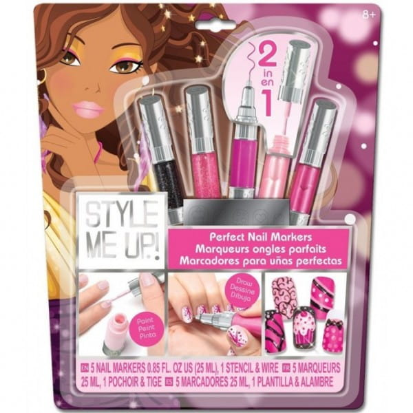Купить Набор для творчества Style Me Up Идеальный маникюр - розовый в интернет магазине игрушек и детских товаров