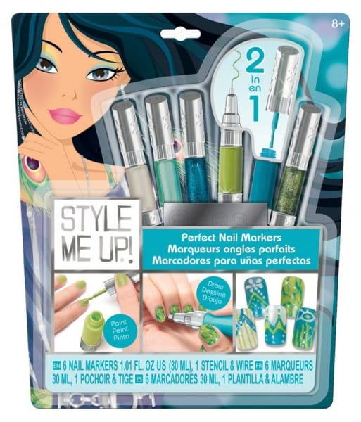 Купить Набор для творчества Style Me Up Идеальный маникюр - голубой в интернет магазине игрушек и детских товаров