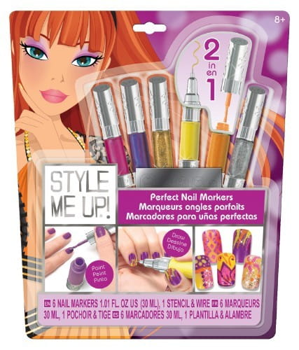 Купить Набор для творчества Style Me Up Идеальный маникюр - сиреневый в интернет магазине игрушек и детских товаров