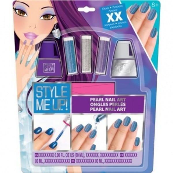 Набор для творчества Style Me Up Жемчужный маникюр - фиолетовый