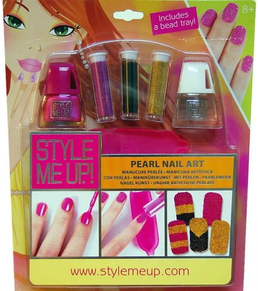 Купить Набор для творчества Style Me Up Жемчужный маникюр - розовый в интернет магазине игрушек и детских товаров