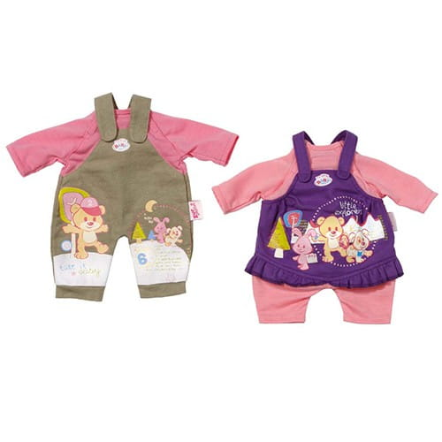 Купить Одежда my little Baby born 32 см (Zapf Creation) в интернет магазине игрушек и детских товаров