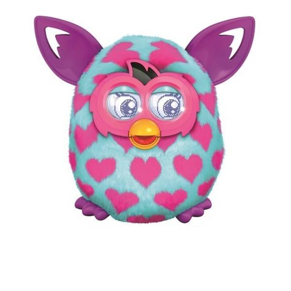 Купить Интерактивная игрушка Furby Boom Ферби Бум Розовые сердечки (Hasbro) в интернет магазине игрушек и детских товаров