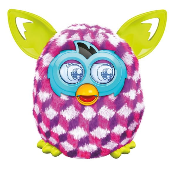 Купить Интерактивная игрушка Furby Boom Ферби Бум Розовые ромбики (Hasbro) в интернет магазине игрушек и детских товаров