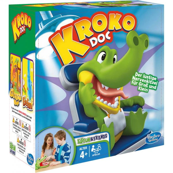 Настольная игра Hasbro B0408H Крокодильчик Дантист