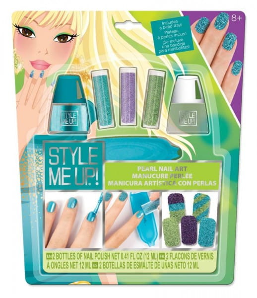 Купить Набор для творчества Style Me Up Жемчужный маникюр - голубой в интернет магазине игрушек и детских товаров