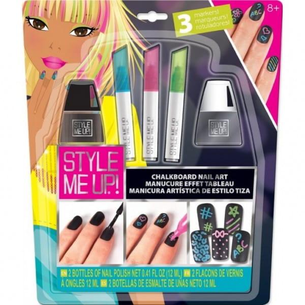 Купить Набор для творчества Style Me Up Маникюр с цветными мелками в интернет магазине игрушек и детских товаров