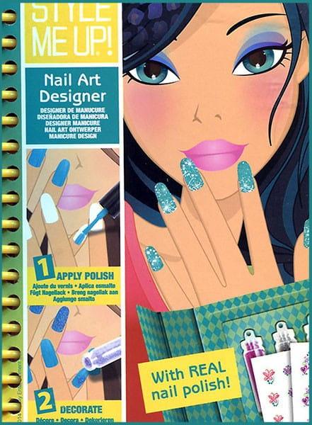 Блокнот Style Me Up Дизайнерский маникюр
