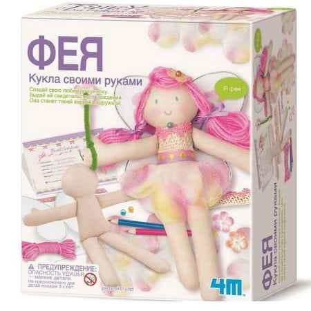 Купить Кукла своими руками 4М Фея в интернет магазине игрушек и детских товаров