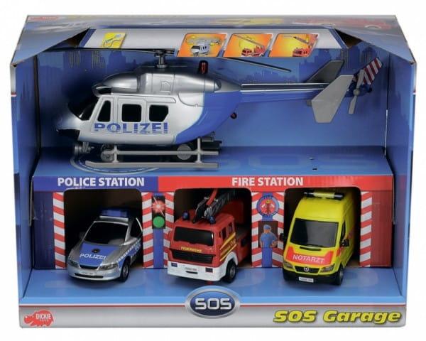 Купить Гараж Dickie Служба спасения в интернет магазине игрушек и детских товаров