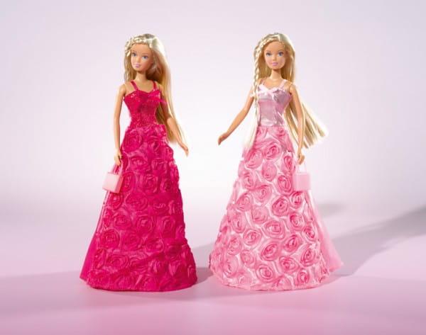 Кукла Steffi Штеффи в платье с розами (Simba)