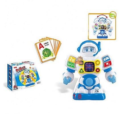 Купить Обучающий робот Шунтик - 44 карточки (Умный Я) в интернет магазине игрушек и детских товаров