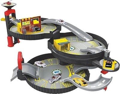 Купить Игровой набор Zhorya Авто-гараж в виде колеса в интернет магазине игрушек и детских товаров