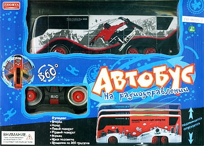 Купить Радиоуправляемый автобус 1 (Zhorya) в интернет магазине игрушек и детских товаров