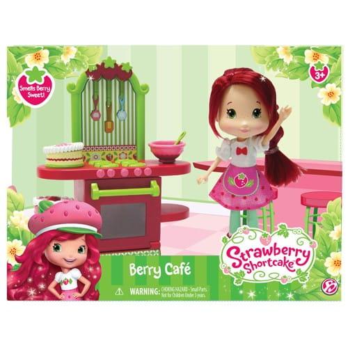 Купить Игровой набор Strawberry Shortcake Шарлотта Земляничка Кафе Землянички - 15 см в интернет магазине игрушек и детских товаров