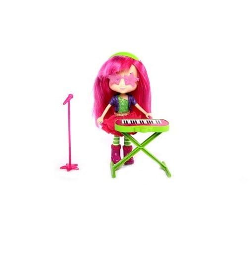 Кукла Strawberry Shortcake Шарлотта Земляничка Кукла с музыкальным инструментом - Малинка 15 см