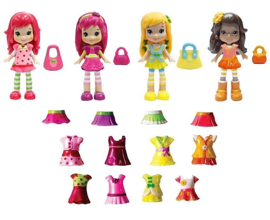 Игровой набор Strawberry Shortcake 12254 Шарлотта Земляничка Куклы с одеждой - 8 см