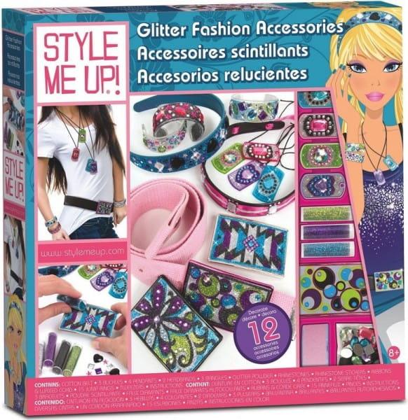 Купить Набор для рукоделия Style Me Up Модные сверкающие аксессуары в интернет магазине игрушек и детских товаров