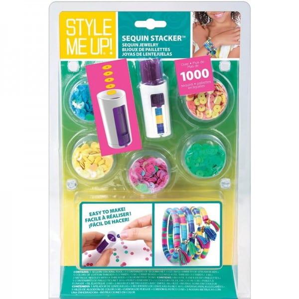 Купить Набор для рукоделия Style Me Up Браслеты из резиночек и страз 1 в интернет магазине игрушек и детских товаров