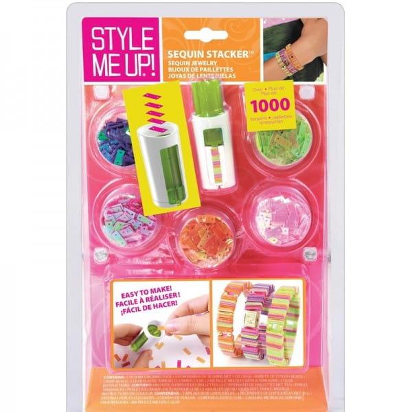 Купить Набор для рукоделия Style Me Up Браслеты из резиночек и страз 2 в интернет магазине игрушек и детских товаров