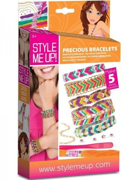 Купить Набор для рукоделия Style Me Up Драгоценные браслеты в интернет магазине игрушек и детских товаров