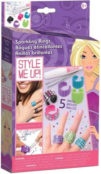 Купить Набор для рукоделия Style Me Up Сверкающие кольца в интернет магазине игрушек и детских товаров