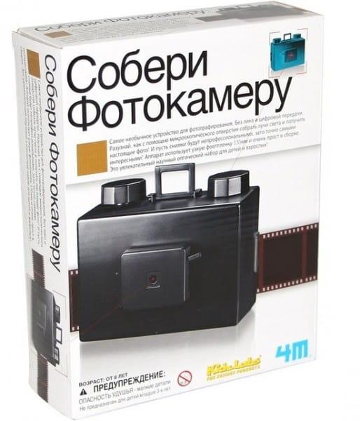 Научный набор 4M Собери фотокамеру