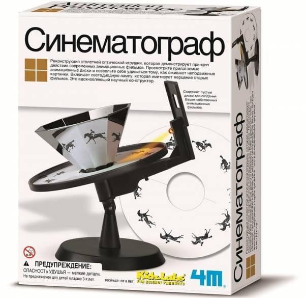 Купить Научный набор 4M Синематограф в интернет магазине игрушек и детских товаров