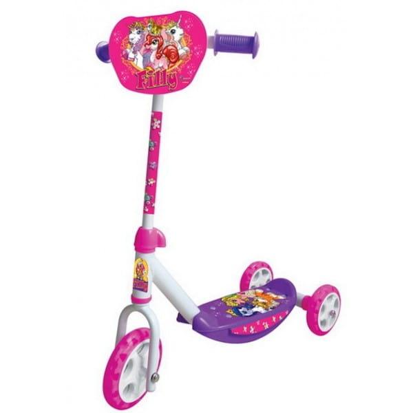Купить Детский Самокат 3-х колесный Smoby Filly Филли в интернет магазине игрушек и детских товаров