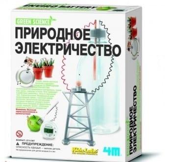 Купить Набор для опытов 4M Природное электричество в интернет магазине игрушек и детских товаров