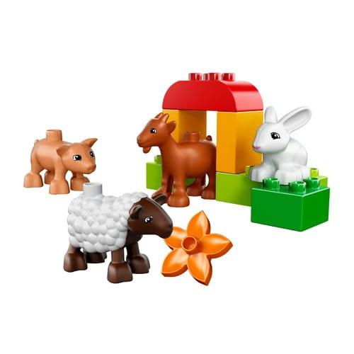 Купить Конструктор Lego Duplo Лего Дупло Животные на ферме в интернет магазине игрушек и детских товаров