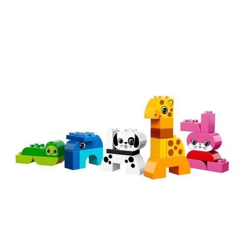 Купить Конструктор Lego Duplo Лего Дупло Веселые зверюшки в интернет магазине игрушек и детских товаров