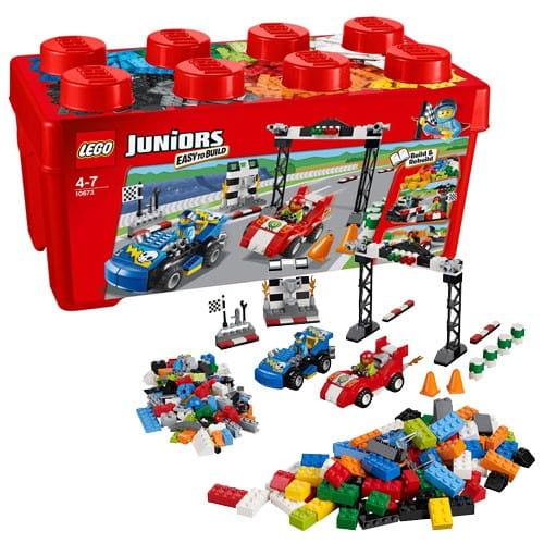 Конструктор Lego Juniors Лего Джуниорс Ралли на гоночных автомобилях