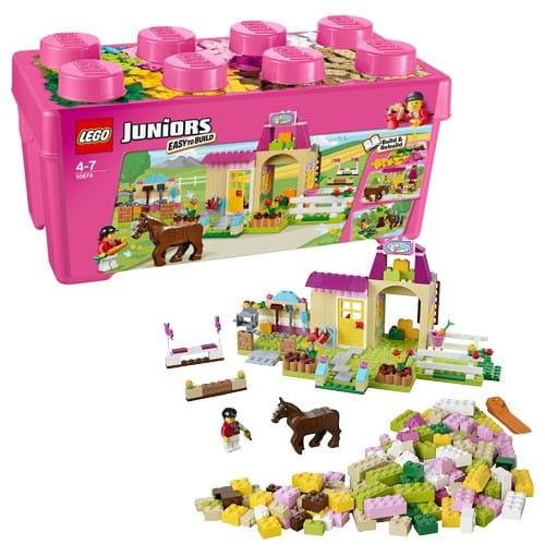 Конструктор Lego Juniors Лего Джуниорс Пони на ферме